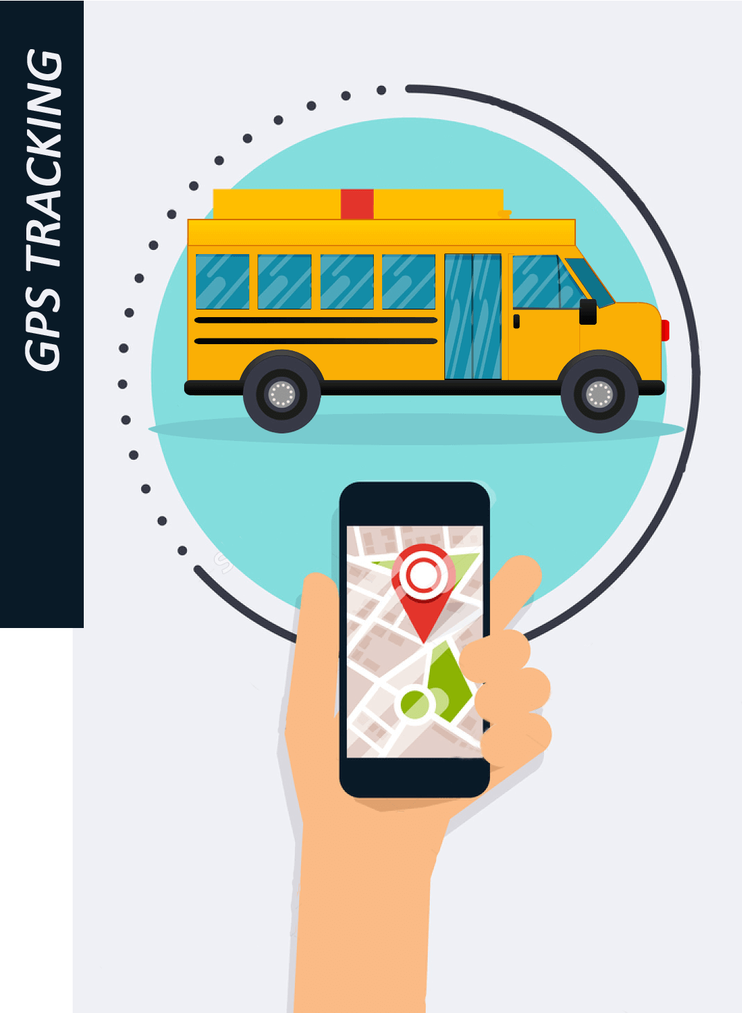 School Bus Tracking System - GPS Vehicle Tracking System - Web School